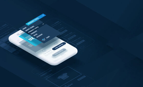 a mobile application with an exceptional UI/UX design